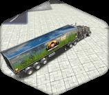 3D Parking Thunder Truck