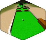 Mini World of Golf Ball