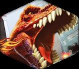 T-Rex Prehistoric Pizza